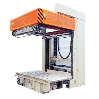 AT53 - Automatic shrink hooding machine